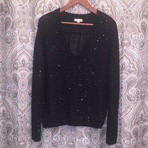 Urban Outfitters Silence + Noise Sequined Knit Top